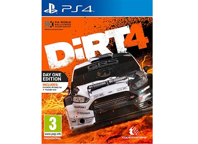 Dirt 4 Day One Edition - PS4 Game