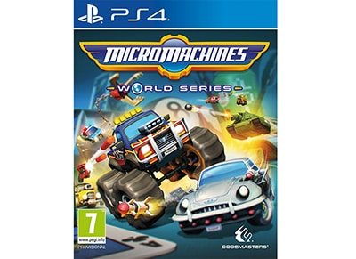 Micro Machines World Series - PS4 Game gaming   παιχνίδια ανά κονσόλα   ps4