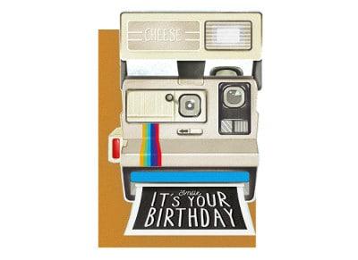 Ευχετήρια Κάρτα LEGAMI Greeting Card Smile is Your Birthday Camera