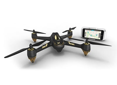 Hubsan H501A X4 Brushless Quadcopter -  Drone με GPS