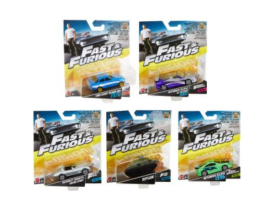 Αυτοκινητάκι Hot Wheels Fast and Furious Diecast (1 Τεμάχιο)