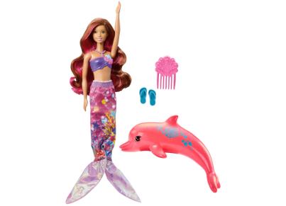 Barbie Περιπέτεια με Δελφίνια - Φίλη Μεταμόρφωση σε Γοργόνα FBD64
