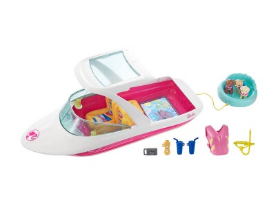 Barbie Περιπέτεια με Δελφίνια - Σκάφος FBD82