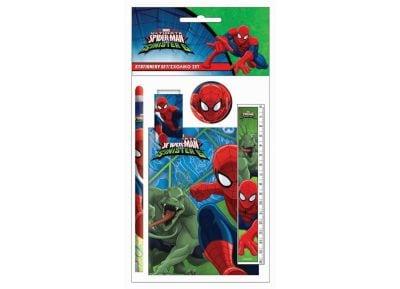 Σετ Σχολικό & Μπλοκ GIM Spiderman (337-66755)