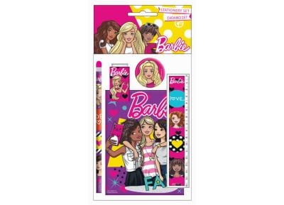 Σετ Σχολικό & Μπλοκ GIM Barbie (349-56755)