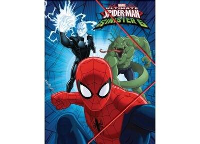 Ντοσιέ Gim Spiderman Α4 Με Λάστιχο