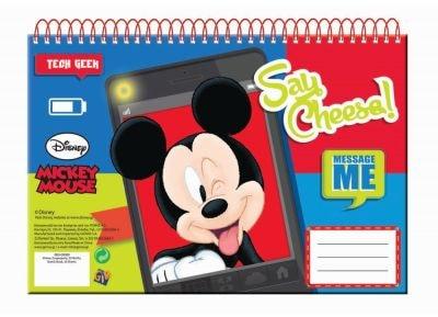Μπλοκ Ζωγραφικής - Gim - Α4 30 Φύλλων Mickey