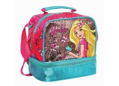 Τσαντάκι Φαγητού- Gim - Barbie Sparkle - Οβάλ