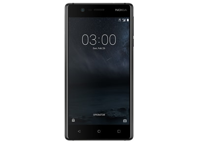 4G Smartphone Nokia 3 - Dual Sim 16GB Μαύρο
