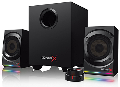 Ηχεία 2.1 Creative Sound BlasterX Kratos S5 - Μαύρο