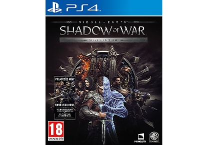 Middle-Earth: Shadow of War Silver Edition - PS4 Game