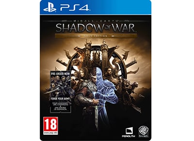 Middle-Earth: Shadow of War Gold Edition - PS4 Game