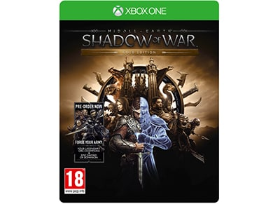 Middle-Earth: Shadow of War Gold Edition - Xbox One Game