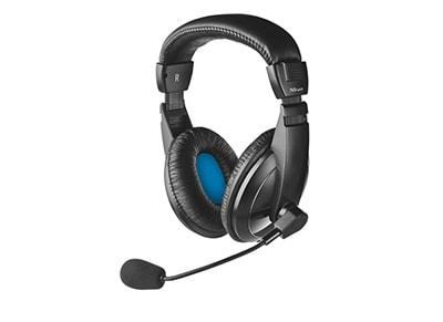 Ακουστικά κεφαλής Trust Quasar II - Μαύρο