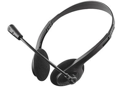 Ακουστικά κεφαλής Trust Primo II - Μαύρο