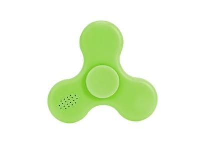 Fidget Spinner - Tri-Spinner - LED BT Speaker Green - FST715