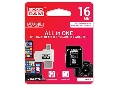 MEMORY MSD GOODRAM 16GB C10 4 IN 1