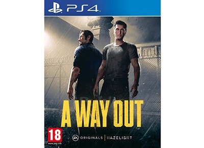 A Way Out - PS4 Game gaming   παιχνίδια ανά κονσόλα   ps4