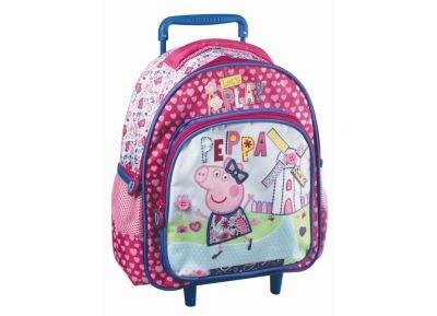 Τσάντα Τρόλεϋ - Peppa Pig - 27x31x10 cm - Ροζ
