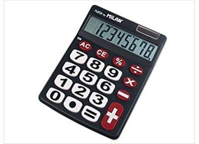 Αριθμομηχανή - Milan - 8 Ψηφίων - 151708Bl