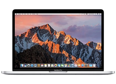 "Laptop Apple MacBook Pro Retina MPTU2GR/A - 15.4"" (i7/16GB/256GB/AMD Pro 555 2GB /Touch Bar) - Silver"