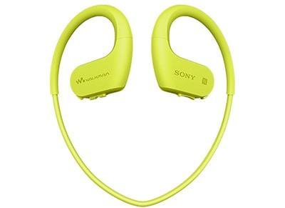 Αδιάβροχα Ακουστικά & MP3 Sony NW-WS623G 4GB - Lime