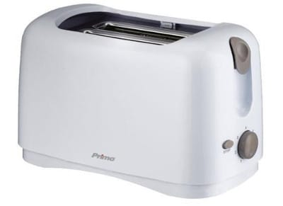Φρυγανιέρα 2 Θέσεων Primo YT-6002 - Λευκό/Γκρι