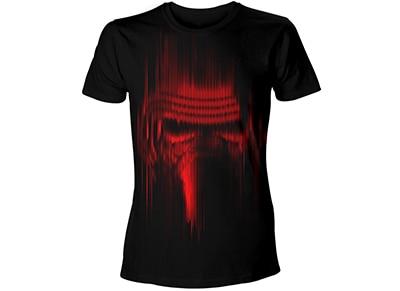 T-Shirt Bioworld Star Wars - Faded Kylo Ren - Μαύρο M