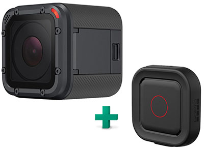 Action Cam GoPro Hero5 Session & GoPro Remo Ασύρματο Χειριστήριο