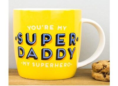 Κούπα Legami Buongiorno Super Daddy Superhero