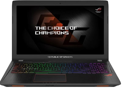 "Laptop Asus Rog Strix GL553VE-FY052T - 15.6"" (i7-7700HQ/16GB/1TB & 256GB/GTX 105 υπολογιστές   αξεσουάρ   laptops"