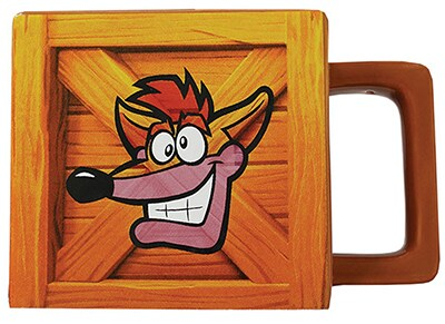 Κούπα Numskull Crash Bandicoot Crate Mug - Καφέ