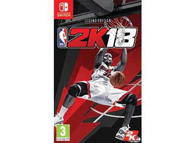 NBA 2K18 Legend Edition - Nintendo Switch Game