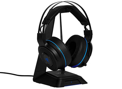 Razer Thresher Ultimate Wireless Surround PS4 - Gaming Headset Μαύρο gaming   αξεσουάρ κονσολών   ps4   headset