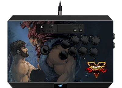 Razer Panthera Street Fighter V Edition - Arcade Stick PS4 Μαύρο