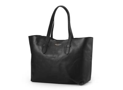 359d461399 Τσάντα Αλλαξιέρα - Black Leather - Elodie Details - Μαύρο