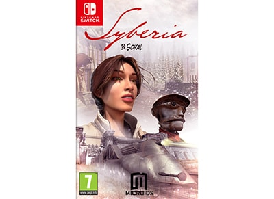 Syberia - Nintendo Switch Game gaming   παιχνίδια ανά κονσόλα   nintendo switch