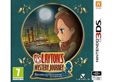 Layton's Mystery Journey: Katrielle and the Millionaires' Conspiracy - 3DS/2DS Game