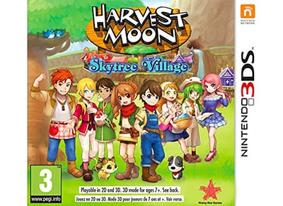 Harvest Moon: Skytree Village - 3DS/2DS Game
