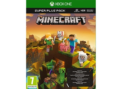 Minecraft Super Plus Pack - Xbox One Game
