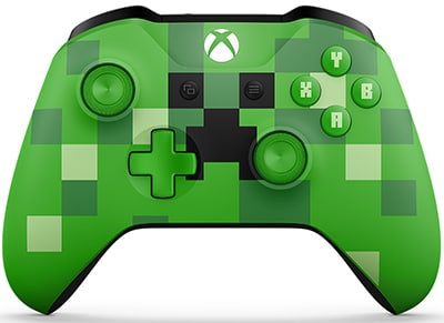 Microsoft Xbox One Controller Minecraft Creeper - Χειριστήριο Πράσινο