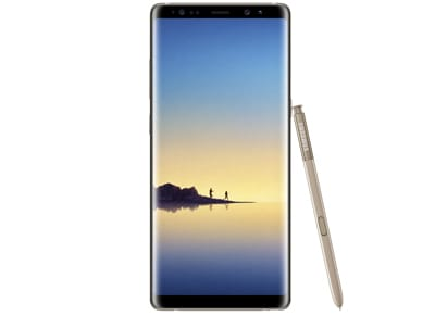 Samsung Galaxy Note 8 Dual Sim - 64GB Χρυσό - 4G Smartphone