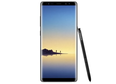 Samsung Galaxy Note 8 Dual Sim - 64GB Μαύρο - 4G Smartphone