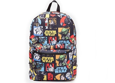 Τσάντα Bioworld Star Wars- Retro Characters Comic Style Backpack