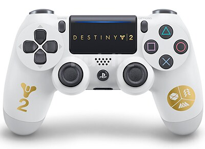Sony DualShock 4 v2 Destiny 2 Edition - Χειριστήριο PS4 - Λευκό