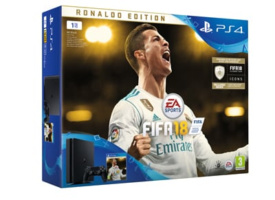 Sony PlayStation 4 - 1TB Slim E Chassis & FIFA 18 Ronaldo Edition gaming   κονσόλες   ps4