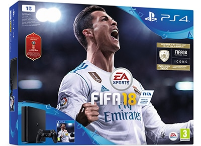 Sony PlayStation 4 - 1TB Slim D Chassis & FIFA 18