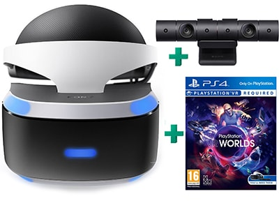 PlayStation VR & PlayStation VR Worlds & PlayStation Camera - Μάσκα Εικ. Πραγματικότητας