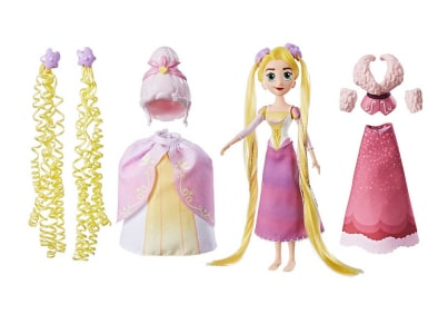 Κούκλα Disney Princess Tangled Action DIY