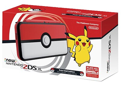 New Nintendo 2DS XL Pokeball Edition - Λευκό/Κόκκινο